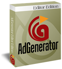 AdGenerator Editor Edition